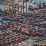 Cargo Ship Loading Dock